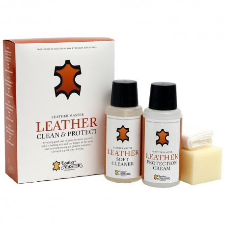Leather Clean & Protect odos priežiūros rinkinys (MAXI)
