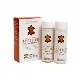 Leather Clean & Protect odos priežiūros rinkinys (MINI)