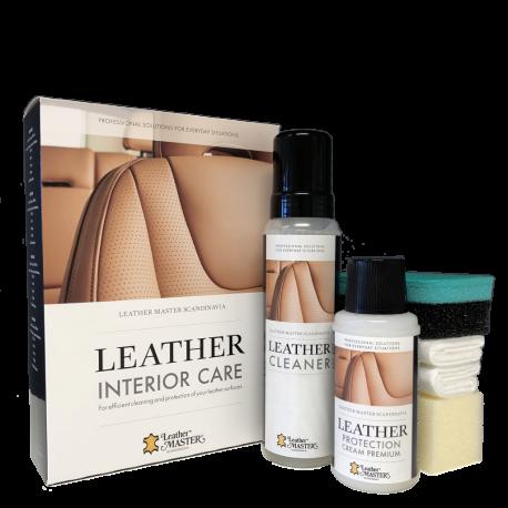 Leather Interior Care odinio salono priežiūros rinkinys